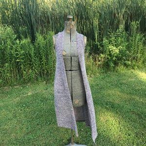 LuLaRoe Maroon Marled Knit Joy Cardigan